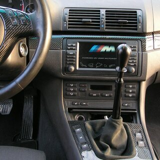 CAE Ultra Shifter BMW anod. BLACK POM black